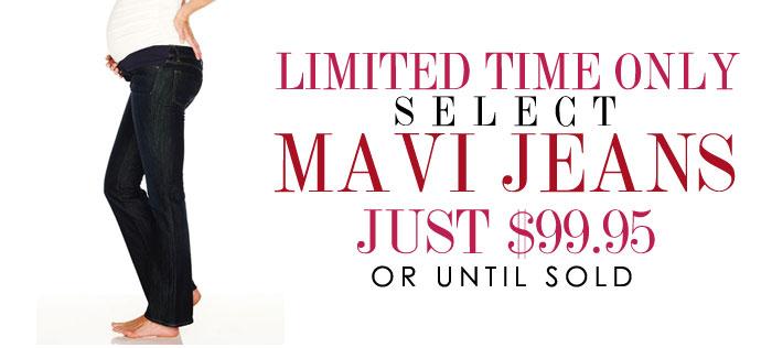 select Mavi Jeans just $99.95