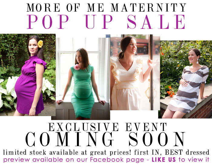 more of me maternity pop up sale coming soon